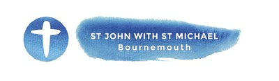 Logo of St John with St Michael, Bournemouth