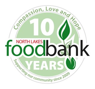 Logo of North Lakes Foodbank